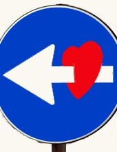 Traffic signs for valentines
