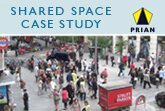 Shared space design for safety and clarity